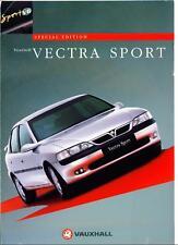 Vauxhall Vectra Sport V6 Edición Especial-hatch/saloon & Estate 1997 Folleto