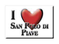CALAMITA VENETO FRIDGE MAGNET MAGNETE SOUVENIR LOVE SAN POLO DI PIAVE (TV)