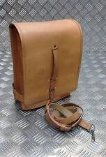 Genuine Vintage Military Officers Leather Map / Document Case / Shoulder Bag Tan