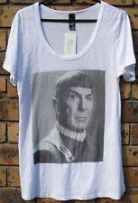 New Ladies Original Star Trek Ambassador Spock Leonard Nimoy Cotton T Shirt