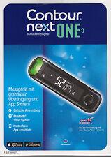 Neu: Contour Next One Blutzucker-Messgerät mmol/l plus Teststreifen - neu+OVP