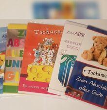 02 Glückwunschkarten Grußkarten Karten Zum Abschied Ruhestand Pension Rente NEU