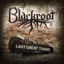 BLACKROOT debut album LAST GREAT THING inspired by Jimi Hendrix Rush Pink Floyd