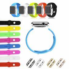 Armband für Apple Watch 38mm 42mm Sportarmband Strap Band Uhr iWatch Silikon NEU