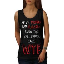 Calendar Says WTF Women Tank Top NEW | Wellcoda