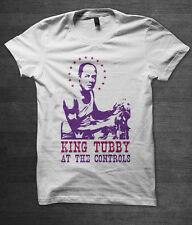 King Tubby Reggae T Shirt Jamaica Ska Musique DuB BOB MARLEY Lee Scratch Perry