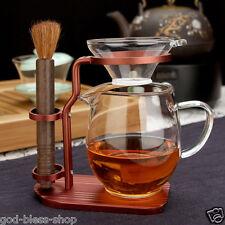 Chinese tea accessories tea filter rack pitcher brush for tea pot maintaining