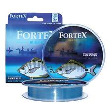150m Lazer FORTEX Mare Linea Di Pesca Marittima tutte le dimensioni
