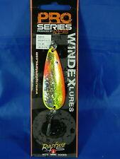 Rapture Pro series Windex spoon 10,7gr. ondulante pesca al Luccio, Black bass