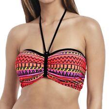 Freya Swimwear Way Out West Underwired Padded Bandeau Bikini Top Sunset 4621