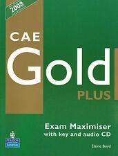 Longman CAE GOLD PLUS Exam Maximiser with audio CD by Elaine Boyd @NEW@