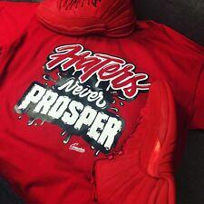 000c8f37871bf9 Shirt Match Jordan 12 Gym Red - Never Prosper Tee