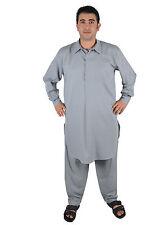 SFBD Salwar Kameez - - SET Pantaloni Tunica In Pakistani Stile in grigio-kam00664