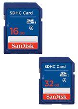 16/32GB SanDisk SD Class 4 Secure Digital Standard Memory Card Wholesale ME