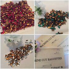 Vintage Tchèque Baguettes 4x2mm Fabuleux Qualité Pack 12 Réparation Artisanat Poste Gratuit