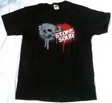 Official STONE SOUR Merchandise Bloody Skull Rock Star Heavy Metal T-Shirt g.XL