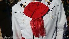 Mexican Bow Tie Charro/Mariachi Red  For Kids.Moño Charro/Mariachi De Niño