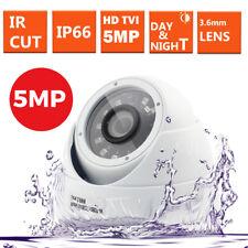 TELECAMERA CCTV Dome 5MP 4MP 2.4MP 4IN1 TVI e l'Full HD 1080P da Esterno Visione Notturna
