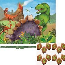 Selva volcán Dinosaurio T-Rex Cumpleaños Fiesta Juego Para 2-12 jugadores Pin La Cola