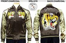 Sukajan Vintage Feeling Tiger Japan Satin Embroidery Souvenir Jacket Japanesque