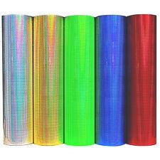 (19,49/M²) Mosaic Hologram Plotter Foil Oil Slick Foil Sticker Plottfolie