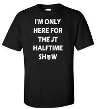 "Justin Timberlake Super Bowl 2018 ""I'm Here for Halftime"" T-Shirt"