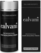 CALVANI Building Fibers 28g: Thickening Fibres, Hair Loss Concealer Thickener