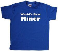 World's Best Miner Kids T-Shirt