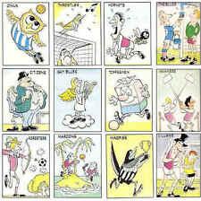PANINI 86 (1986) soprannome football adesivo frigo calamita-vari