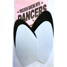 Señoras Danza Soles Para hágalo usted mismo Zapato reparaciones, opción de Negro O Plata