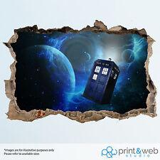 Dr Who Wall Smash Decal Sticker Bedroom Vinyl Kids Mural Art