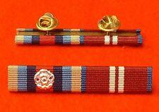 OSM Afghanistan OP Herrick + Rosette Queens Diamond Jubilee Stud Pin Ribbon Bar
