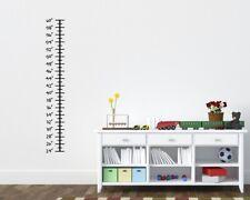 Growth Chart Ruler Childrens Room Kids Room Wall Ruler Grow Ruler Custom Ruler