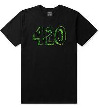 Kings Of NY 420 DTG Weed Marijuana Short Sleeve T-Shirt