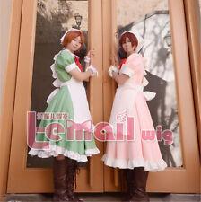APH Axis Powers Hetalia Italy Twins Maid Lolita Cosplay Costume dress Customize