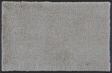 wash+dry Fußmatte Cool Grey - hellgrau 7 Größen rutschfest pflegeleicht waschbar