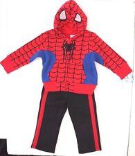 Exclusive Marvel Spider-Man Boys 2 Piece Sweatsuit Sizes 4,5,6,7 NWT