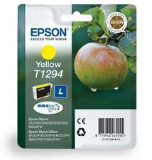T1294 Yellow Original Epson Printer Ink Cartridge C13T12944010 Apple Ink