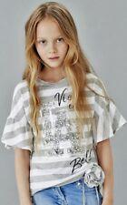 ELSY Girl Bluse AGATA mit Glockenärmeln Gr.10//140 NEU/%/%/%