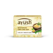 Lever Ayush Moisturising Cow's Ghee Soap with Pinda tailam 100 gram 3.5 oz