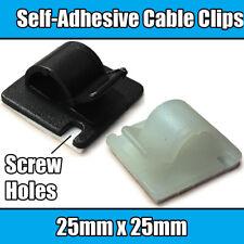 """Plastic P Clip 21.8mm 7//8/"""" Nylon Black Pclip Clamp Hose Cable Holder Conduit"""