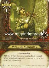 Warhammer Invasion - 2x Wall of Maggots  #012