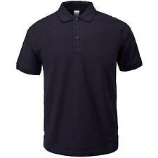 POLO shirt Top maniche corte Work Wear Unisex Heavy Duty Plain Style Casual S-3X