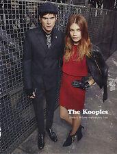 PUBLICITE ADVERTISING  2012  THE KOOPLES    en couple depuis 3 ans  MILA & JAMIE