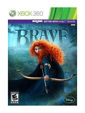 Brave (Microsoft Xbox 360, 2012) Disney Pixar Video Game System Toy boy girl