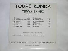 RARE CD PROMO 12 TITRES / TOURE KUNDA / TERRA SAABI/TBE