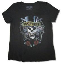 GUNS N ROSES HEAVY METAL HARD Rock Band CONCERT Tour BLACK Adult T-Shirt H