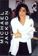 Carte Postale Postcard Chanteur MICHAEL JACKSON BTD 13 Couleur avec Gant blanc
