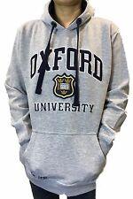 UFFICIALE Oxford University Con Cappuccio-Heather Grigio