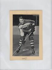 1945-46 1945-64 Bee Hive Photos Group 2 Wilfy Field Rookie Hockey Card